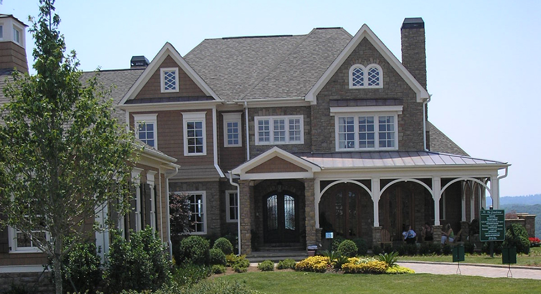 Custom homes caldwell cline architects and designers for Custom home builders gainesville ga