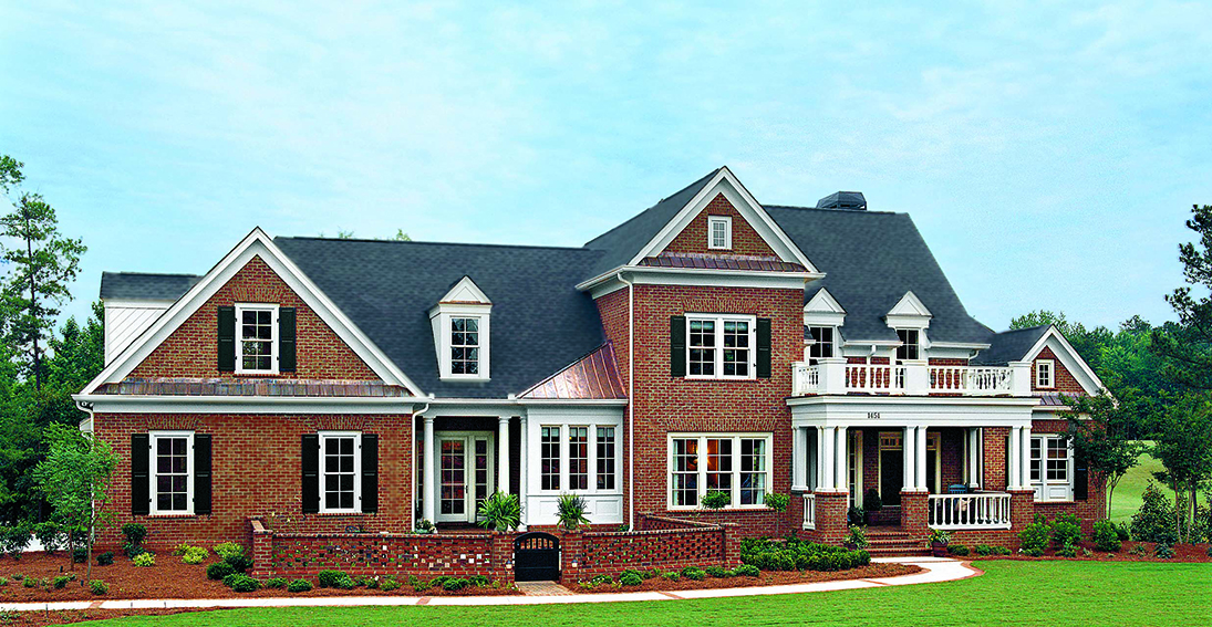 Custom homes caldwell cline architects and designers for Custom home builders in georgia