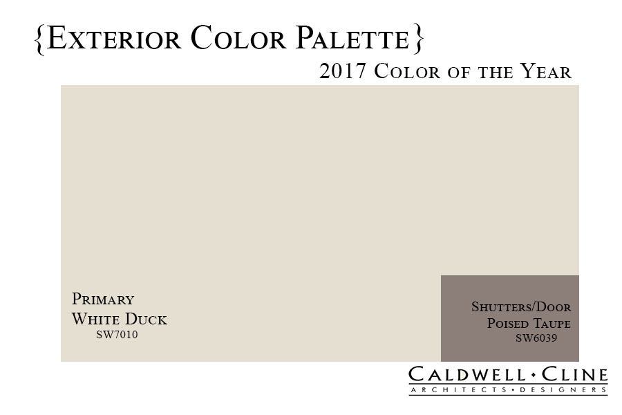 2017 paint colors of the year caldwell cline architects for Sherwin williams color of the month october 2017