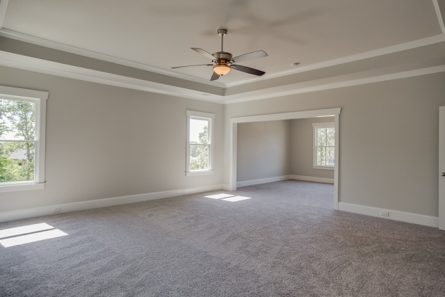 Master Bedroom / Master Sitting Room Tray ceilings